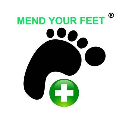 Mend Your Feet logo